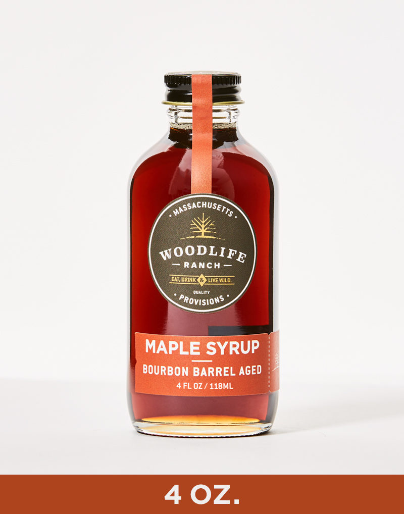 Woodlife Ranch Bourbon Barrel Aged Maple Syrup