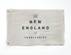 Woodlife Ranch New England Flag
