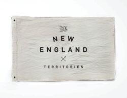 Woodlife Ranch New England Flag