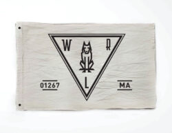 Woodlife Ranch Wolf Territory Flag