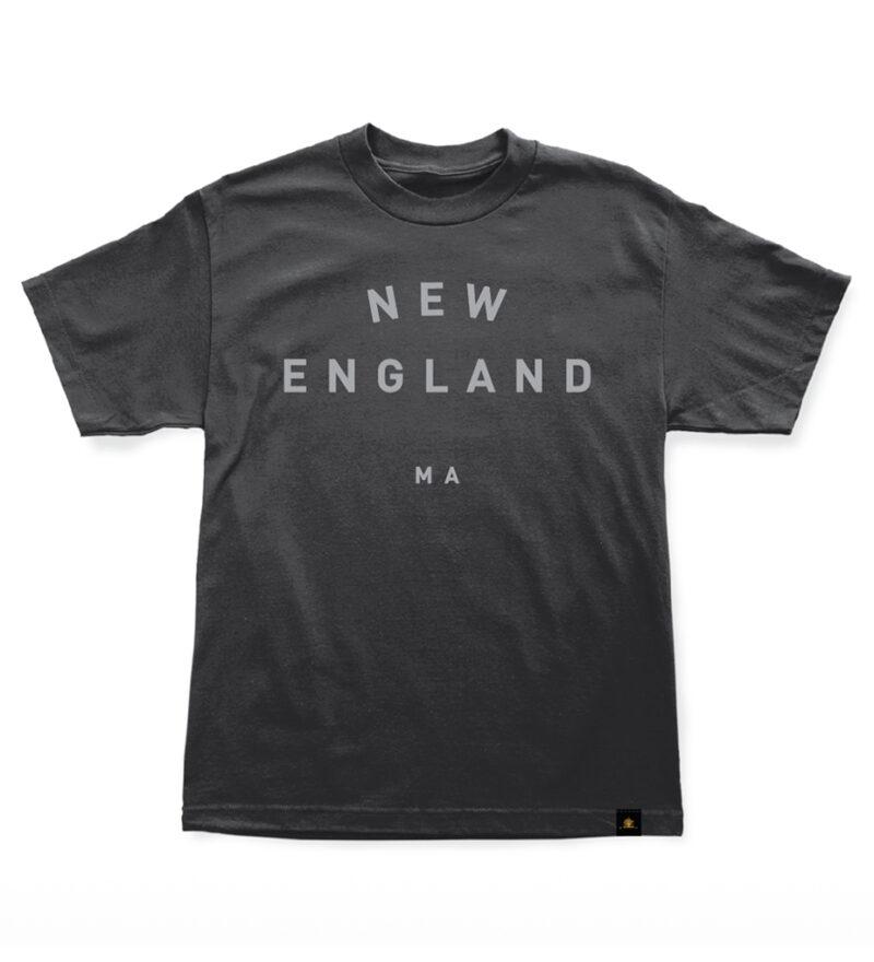 Woodlife Ranch New England Black T-shirt
