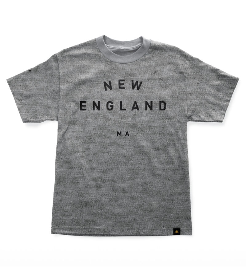 Woodlife Ranch New England Gray T-shirt