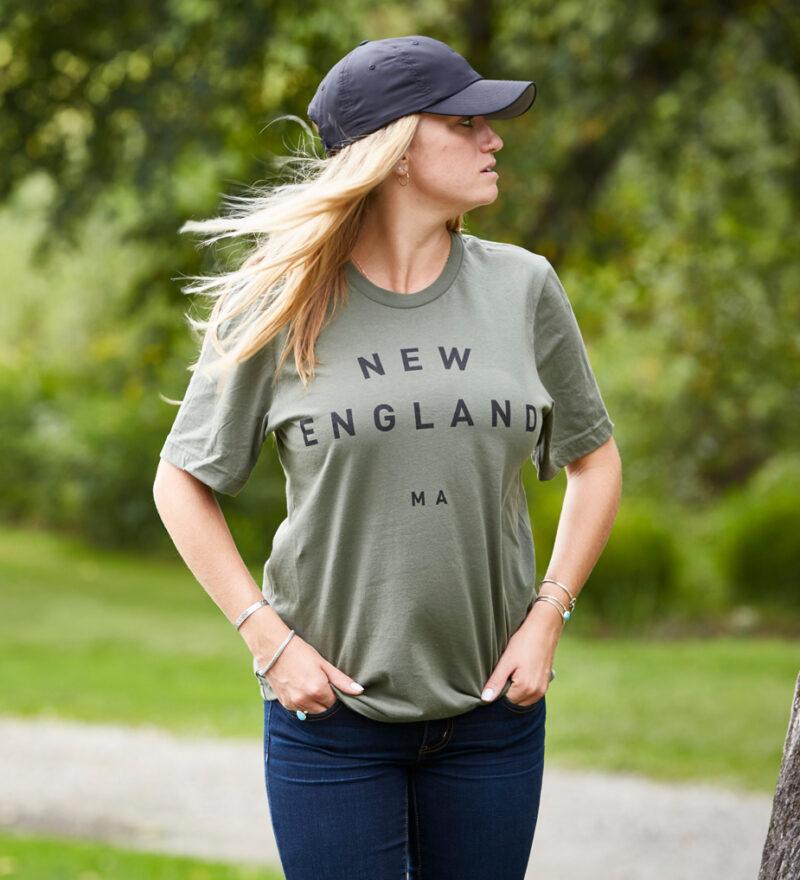 Woodlife Ranch New England Green T-shirt