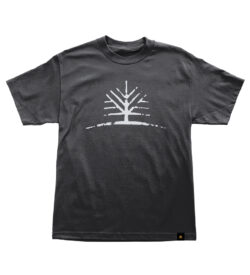 Woodlife Ranch Tree Black T-shirt
