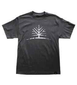 Woodlife Ranch Tree Black T-shirt
