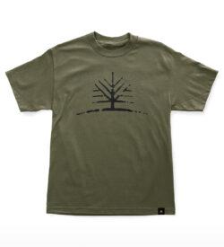 Woodlife Ranch Tree Green T-shirt
