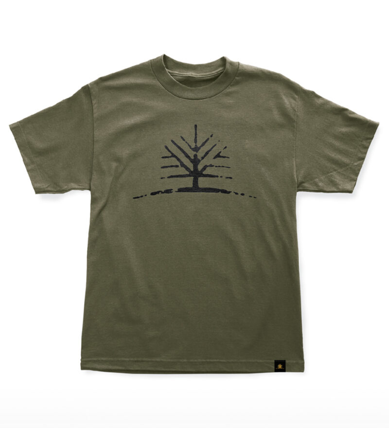 Woodlife Ranch Tree Green T-shirt