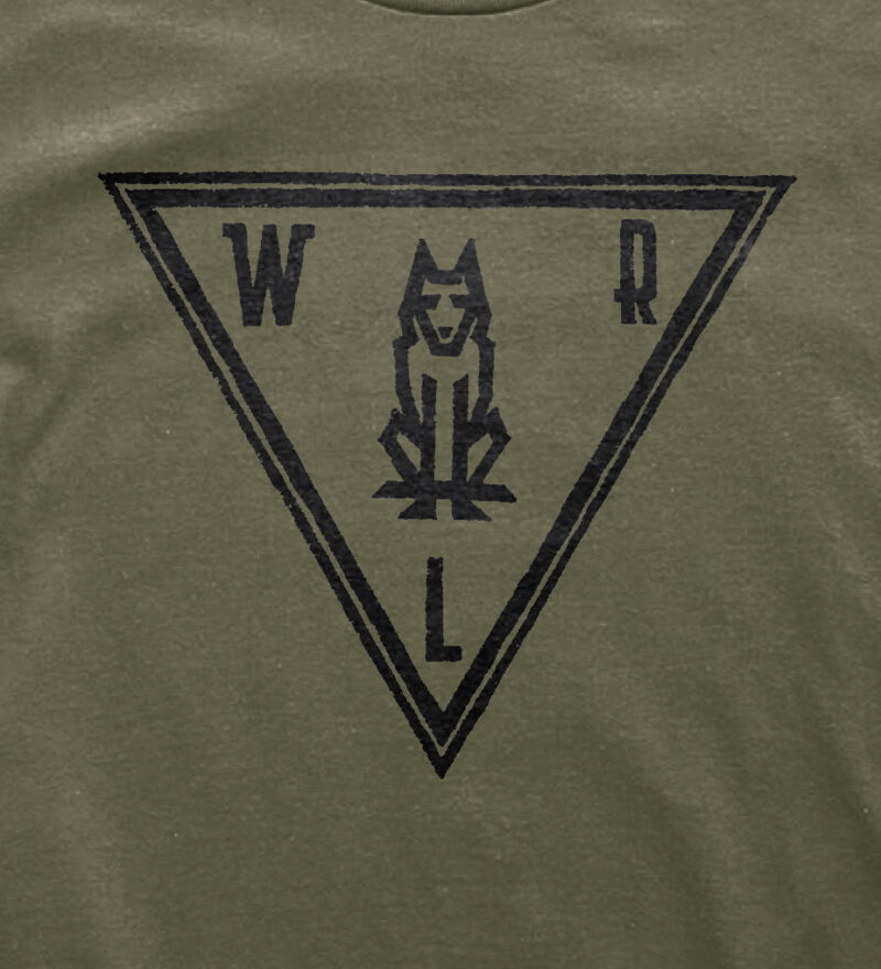 Woodlife Ranch Wolf T-shirt