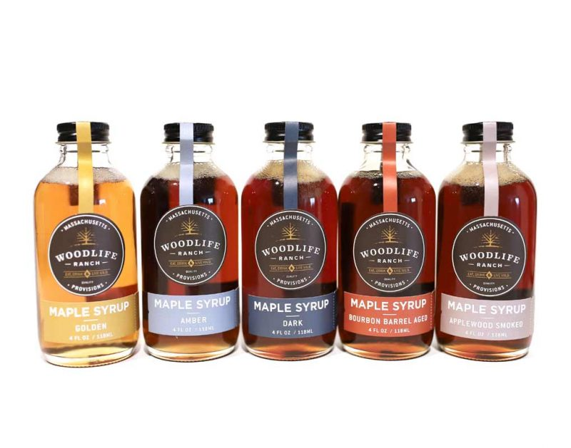 Woodlife Ranch 5 Pack Maple Syrup Sampler