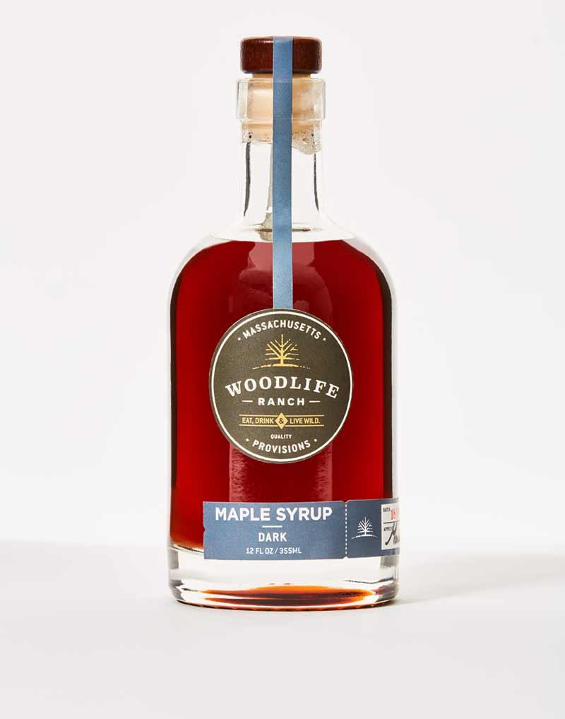 Woodlife Ranch Dark Maple Syrup