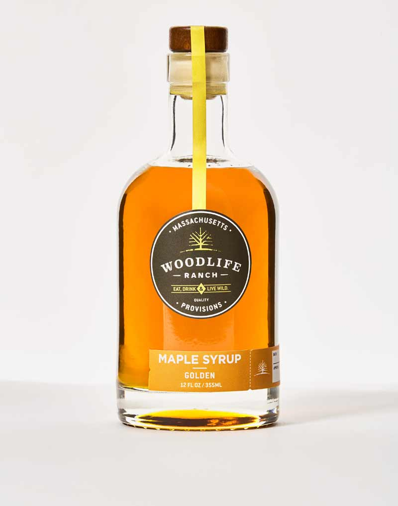 Woodlife Ranch Golden Maple Syrup