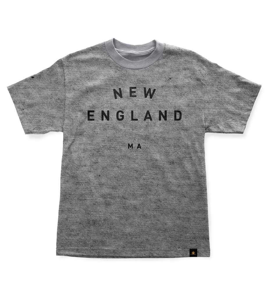 Woodlife Ranch New England T-Shirt Gray