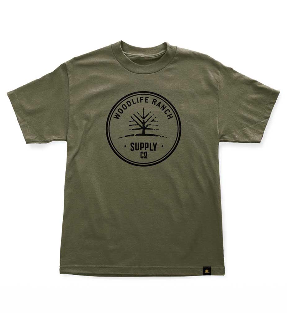 Woodlife Ranch Supply Co. T-Shirt Green