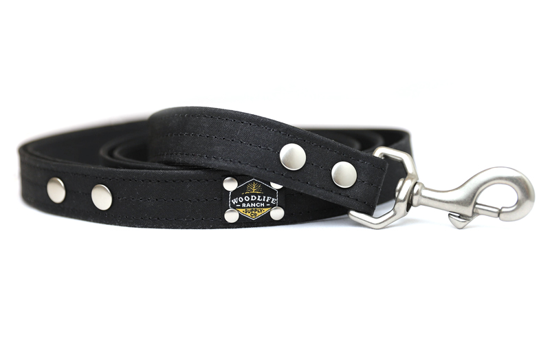 Woodlife Ranch Black Dog Collar