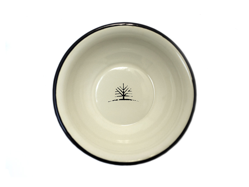 Woodlife Ranch Enamel Bowl