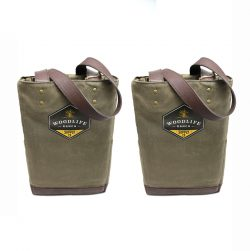 Woodlife Ranch Two Bottle Wine Tote (Set of 2)