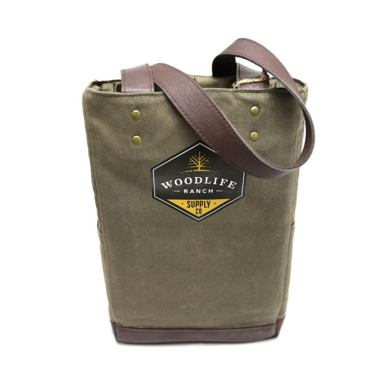 Woodlife Ranch Two Bottle Wine Tote