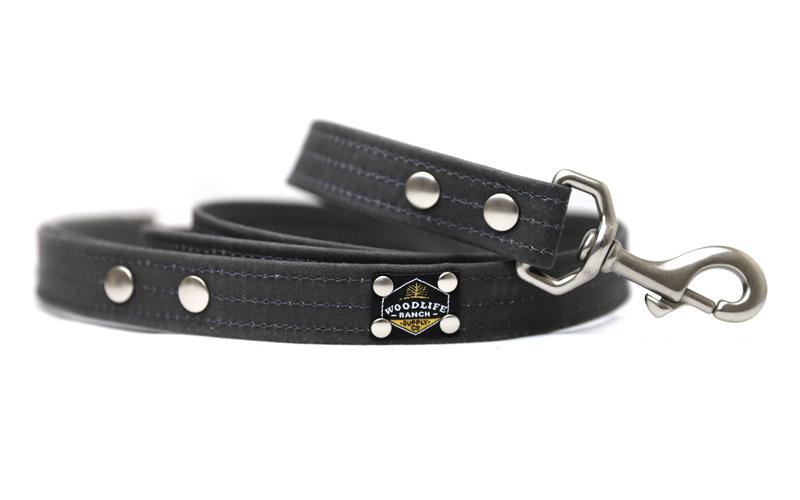 Woodlife Ranch Charcoal Dog Leash