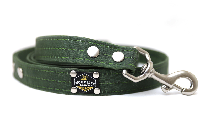 Woodlife Ranch Forest Green Dog Leash