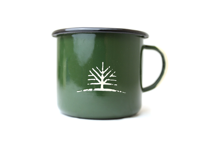 Woodlife Ranch Large Enamel Mug