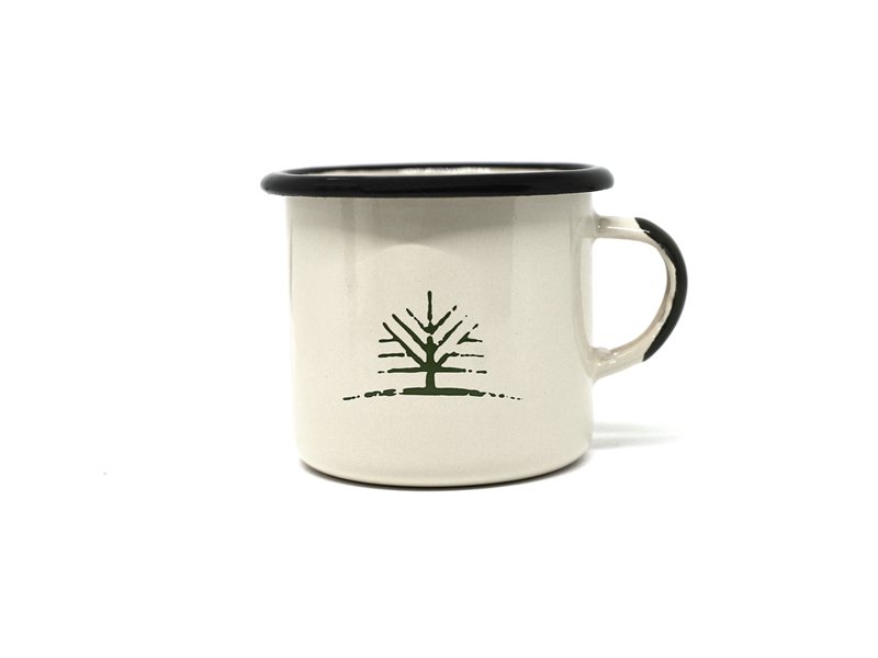 Woodlife Ranch Small Enamel Mug