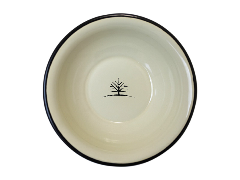 Woodlife Ranch Enamel Plate