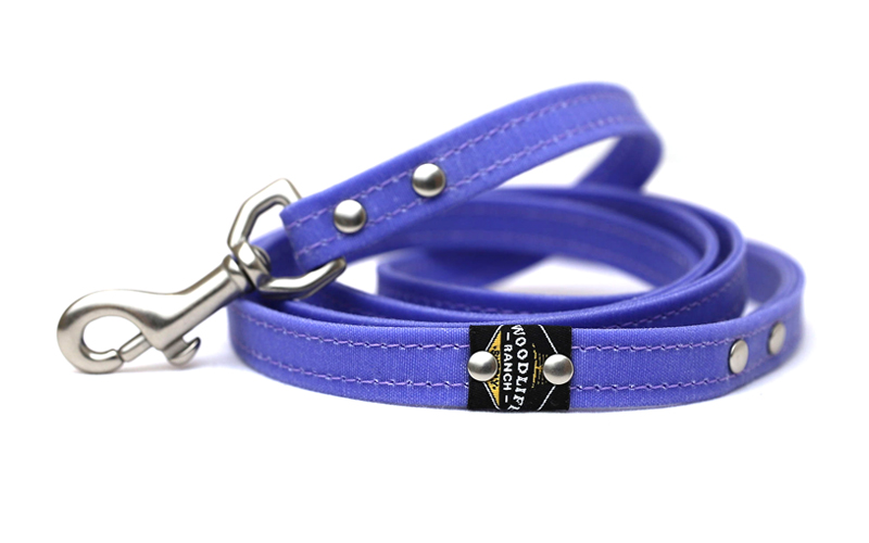 Woodlife Ranch Lavender Dog Leash