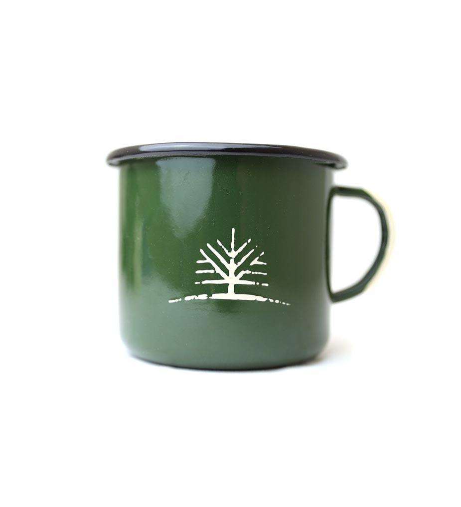 Woodlife Ranch Large Enamel Mug